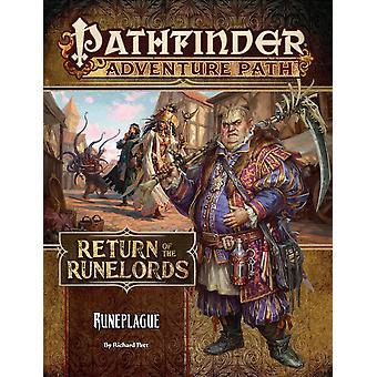Kurvefinder Adventure Path Runepest (returnering af Runelords 3 af 6) bog