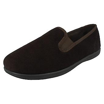 Mens Clarks Twin Gusset Slippers King Twin