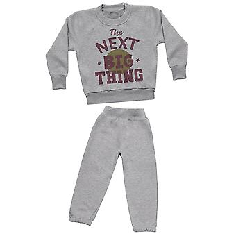 The Next Big Thing - Sweatshirt with Grey Joggers - Baby / Kids Outfit