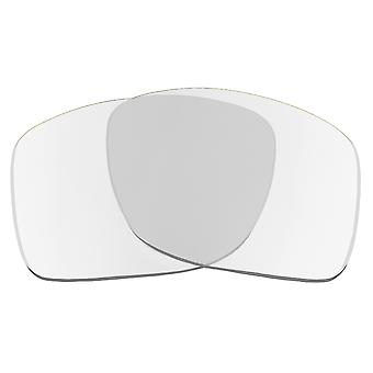 SEEK Replacement Lenses Compatible for Oakley TURBINE Non-Polarized Clear