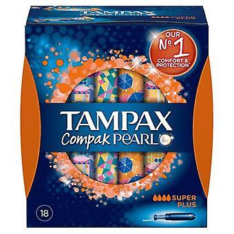 Tampax Bufor Compak Pearl Super Plus 18 jednostek