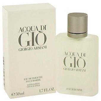 Acqua di gio eau de toilette spray door giorgio armani 416537 50 ml