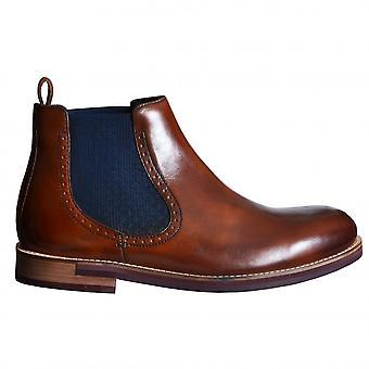 Ted Baker Men's Secarr Dark Tan Chelsea Boot