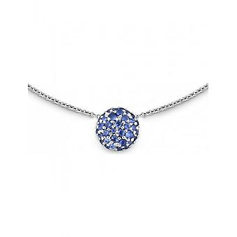 КВИНН - ожерелье - дамы - белое золото 585 - 62710595