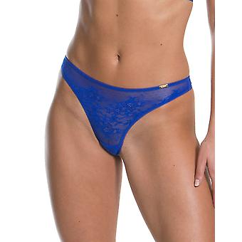 Gossard 13006 Women's Glossies Lace Floral Panty Thong