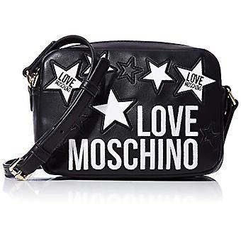 Love Moschino Jc4087pp1a Black Women's Shoulder Bag (Zwart) 7x14x20 cm (W x H x L)