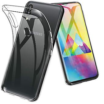 Shell Samsung M20 in translucent rubber,