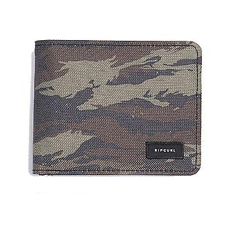 Rip Curl Mix Up Pu All Day Polyester Wallet in Khaki