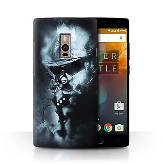 STUFF4 Case/Cover for OnePlus 2/Two/Ghost Soldier/War Battle Gaming Art