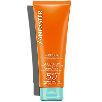 Lancaster Sun Kids Comfort Cream Wet Skin Application SPF50 125ml