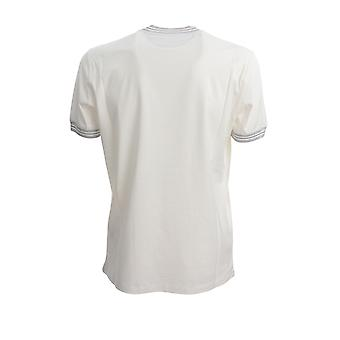 Brunello Cucinelli M0t611620ci580 Men's White Cotton T-shirt