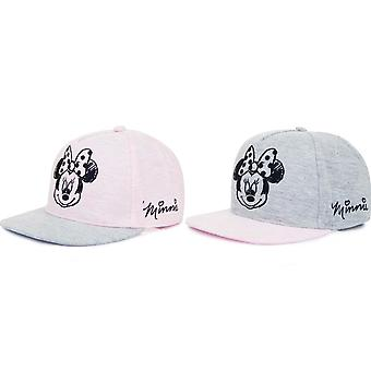 Minnie Mouse Childrens/Girls Two Tone Snapback Cap