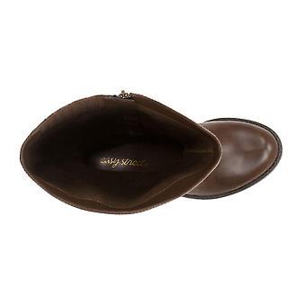 Easy Street Womens Quinn Plus Fabric Almond Toe Mid-Calf Fashion Boots