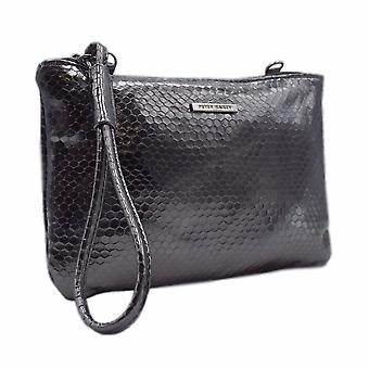 Peter Kaiser Waida Dressy Clutch Bag In Stylish Carbon Corona