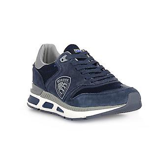 Blauer nvy mesh running sneakers fashion