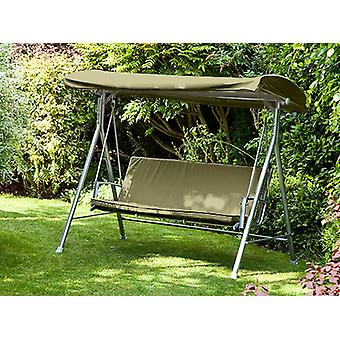 Olive Vervanging 3 Seater Canopy Garden Patio Swing Seat Bench Cushion Rugleuning