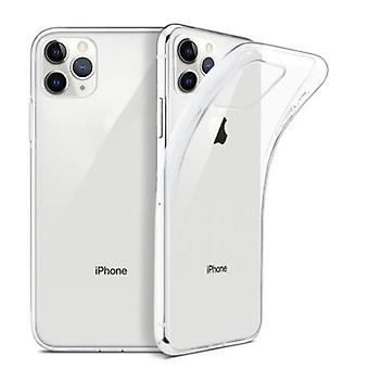 2pcs iPhone 11 PRO silicone shell - Transparent