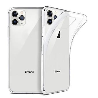 2pcs فون 11 برو قذيفة سيليكون - شفافة