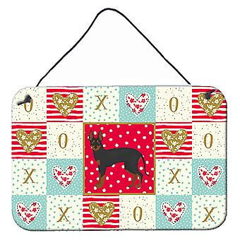 Englische Spielzeug Terrier #2 Liebe Wand oder Tür hängen Drucke