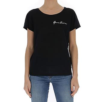Versace A86600a234565a202024 Donna's T-shirt Black Cotton