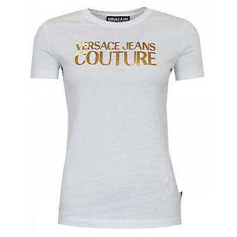 Versace Jeans Couture Fitted Foil Logo T-Shirt