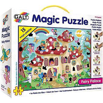 Galt - Magic Puzzle - Fairy Palace Ship 50 Piece Age 4-8