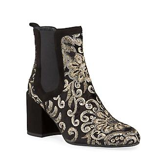 Stuart Weitzman Womens Mediate Suede Round Toe Ankle Fashion Boots