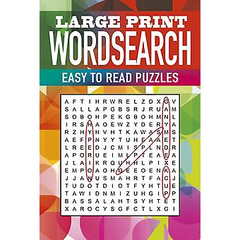 Large Print Wordsearch by Eric Saunders