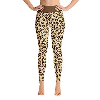 Leggings de treino | Leggings de Yoga | Fantasia | Leopardo