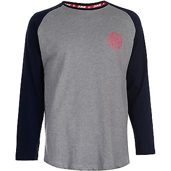 Zukie Long Sleeve Raglan T-Shirt Mens