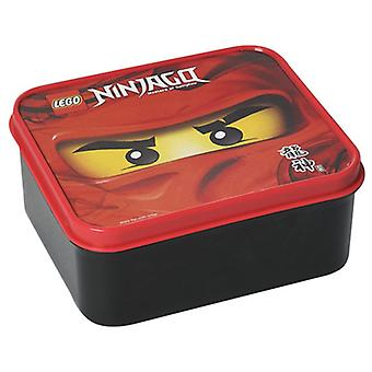 LEGO 5711938025304 Lunchbox Ninjago red