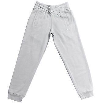 Boy's adidas Originals Junior Trefoil Pantaloni Terry Track francesi in grigio