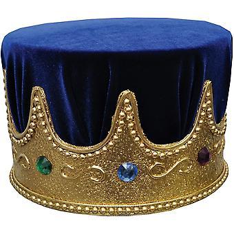 Joya de la corona con turbante azul para todos