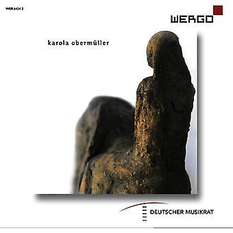 Karola Obermuller [CD] USA import