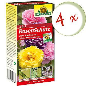 Sparset : 4 x NEUDORFF 2in1 RosenSchutz