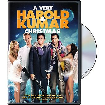 Mycket Harold & Kumar Jul [DVD] USA import