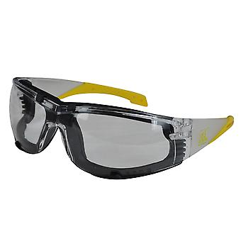 Roughneck Clothing Safety Glasses Clear RNKSGCLEAR