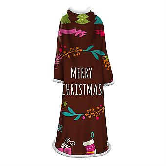 YANGFAN 3D Digital Printed Blanket With Sleeves
