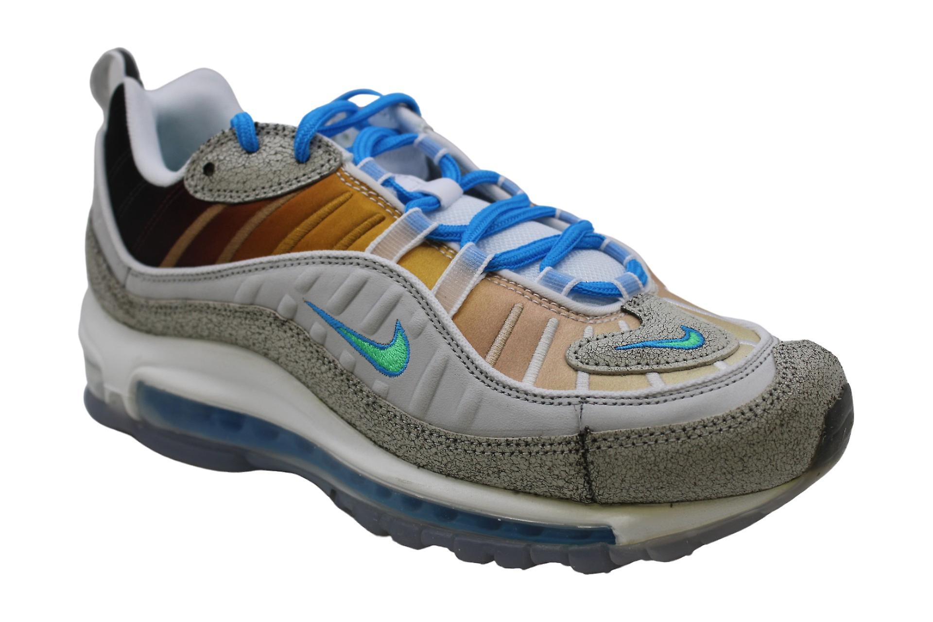 Nike Men's Shoes Air Max 98 OA GS Low Top Lace Up Running Sneaker