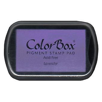 Clearsnap ColorBox Pigment Muste Täysikokoinen Laventeli