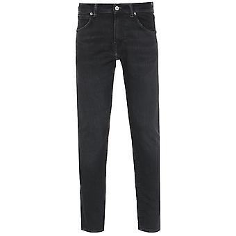 Edwin ED-85 Slim Fit Kioshi Eco Wash Black Denim Jeans
