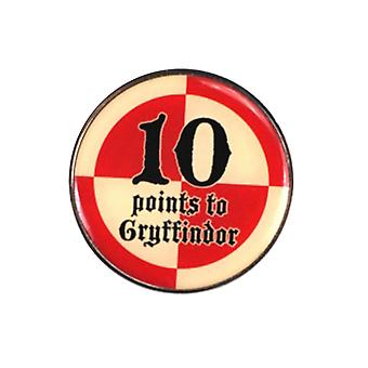 Harry Potter Badge Enamel 10 points to Gryffindor new Official
