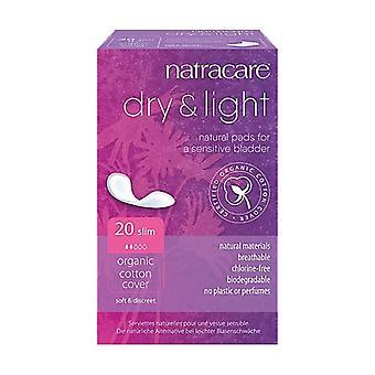 Dry & Light Natural Pads for Sensitive Bladder 20 units