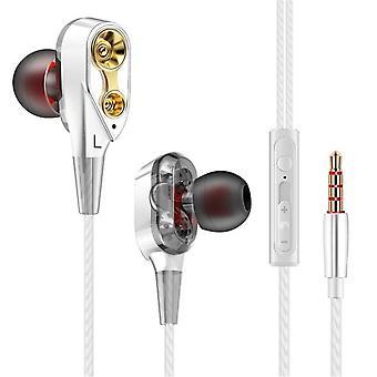 Doppeleinheit Antrieb In-Ear Bass Subwoofer Kopfhörer