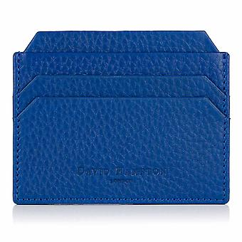 Sapphire Blue Richmond Leather Slim Six Card Holder