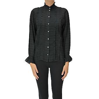 Soeur Ezgl563006 Women's Black Cotton Shirt