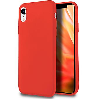 Soft Shell per iPhone XR in TPU Silicone Red