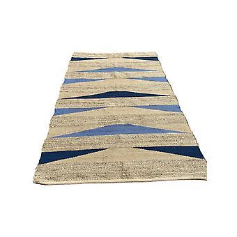 Spura Home Striped Jute Brown Contemporary 8x10 5x8 Area rug For Living Room