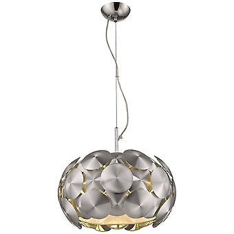 5 Light Small Ceiling Pendant Chrome, E27
