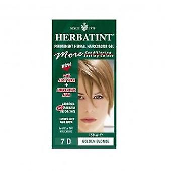 Herbatint - 7D 150 ml de cor de cabelo louro dourado